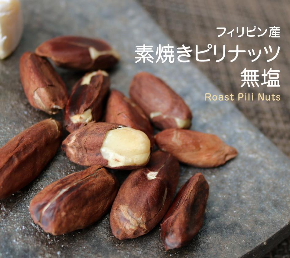 ピリナッツ 素焼き 無塩 無添加 小分け 40g フィリピン産 ハッピーナッツカンパニー